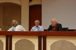 da sinistra: Mauro Marra, Eduardo Duran, Auro Basilcò