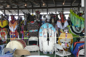 Pow-wow a Mandaree         Fort Berthold Indan Reservation