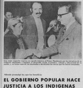Allende saluda a mujer mapuche1