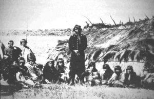 """Prigionieri mapuche nella campagna di """"Pacificazione dell'Araucanía"""""""