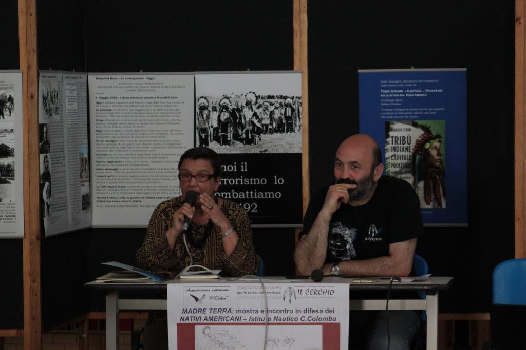 Loretta Emiri e Toni Ventre, Camogli 2016