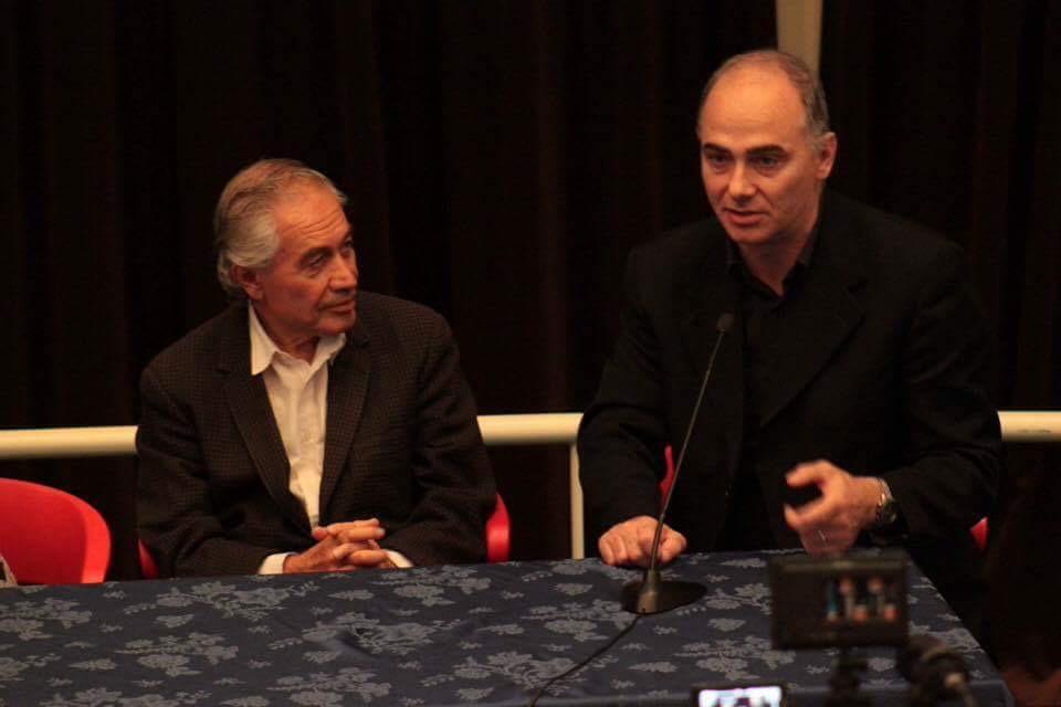 A sinistra: Francesco Meli; a destra Federico Lenzerini