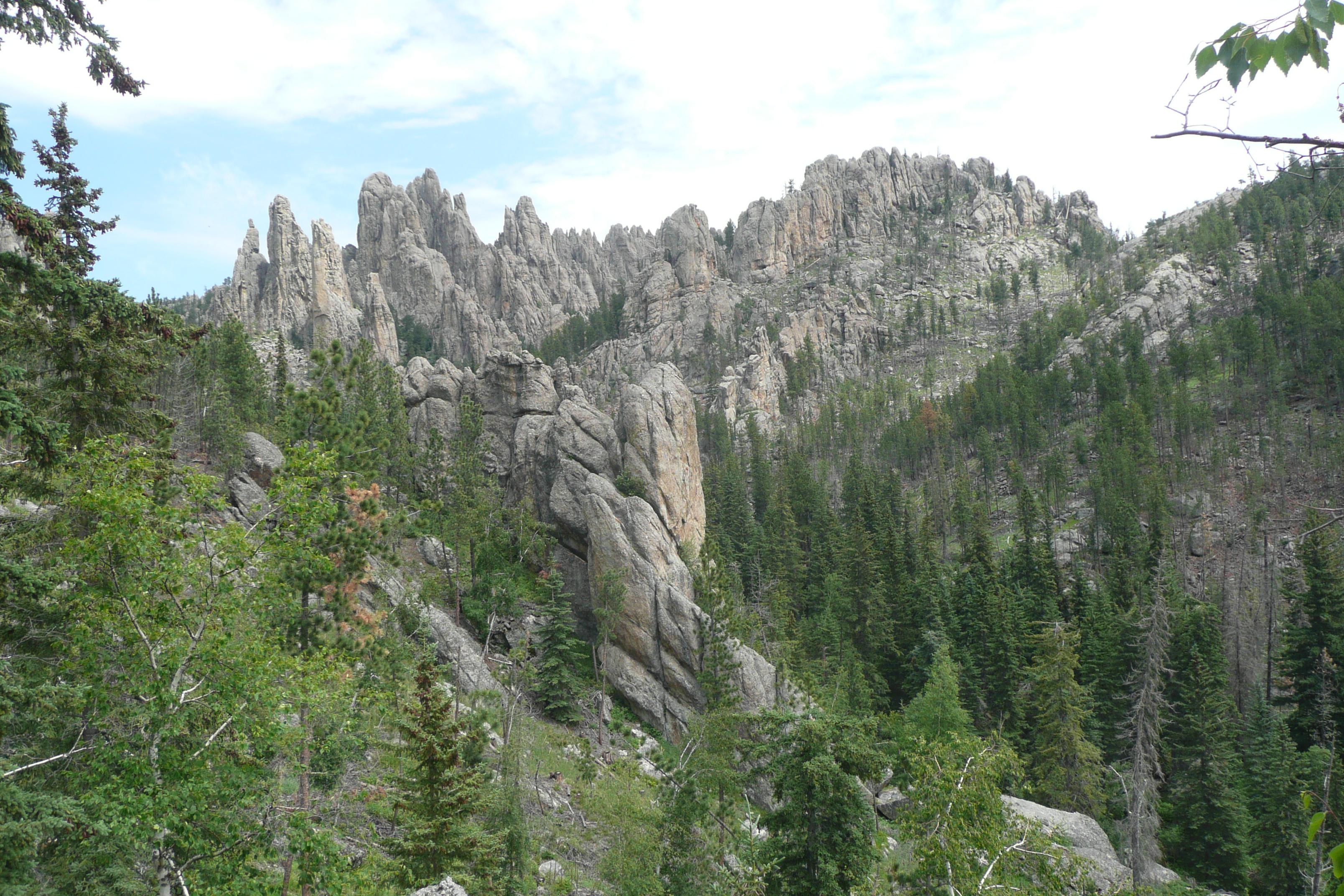 Una delle cime delle Black Hills (foto M. Galanti)