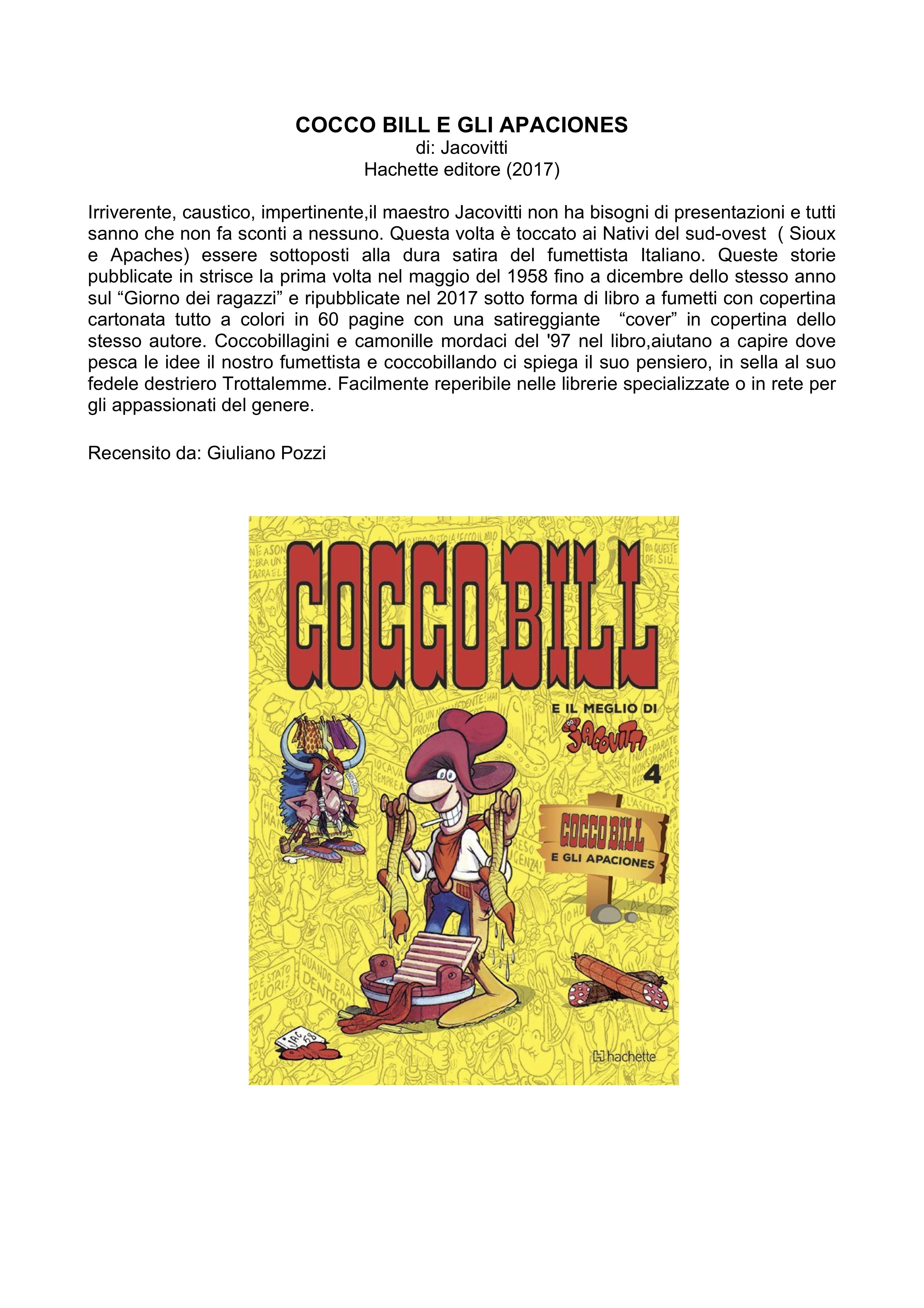 COCCO BILL E GLI APACIONES